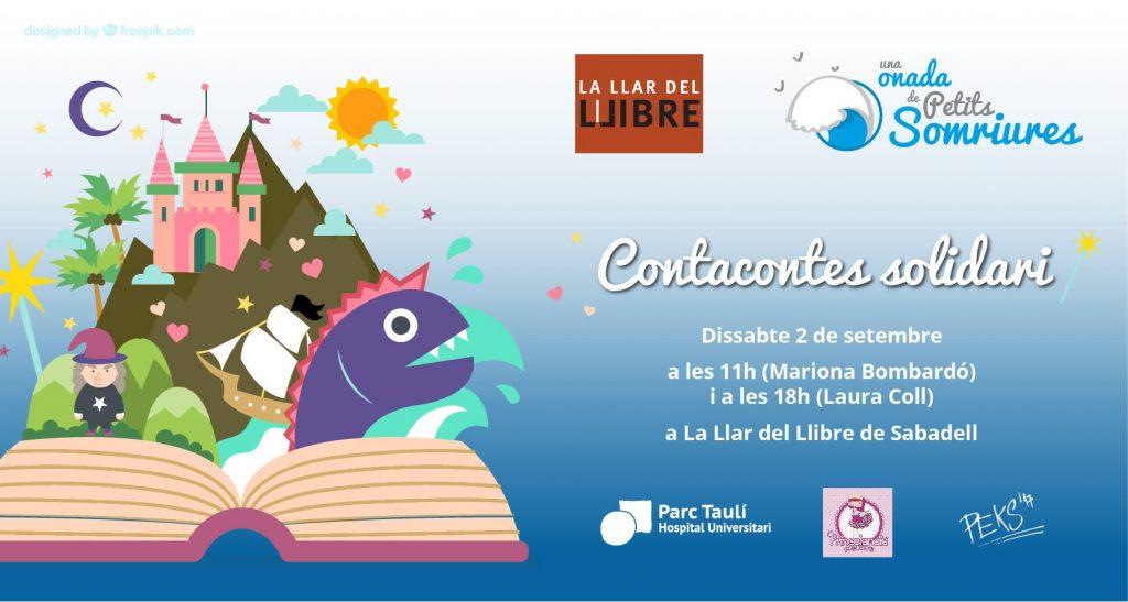 Contacontes solidari per la Festa Major de Sabadell!