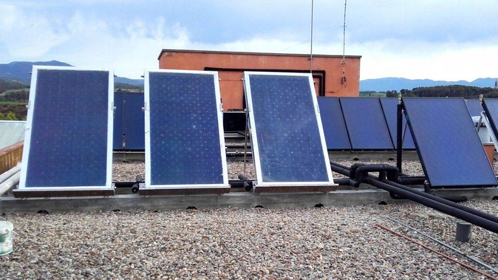 Instal·lació d'una planta solar fotovoltaica a l'edifici Taulí nou