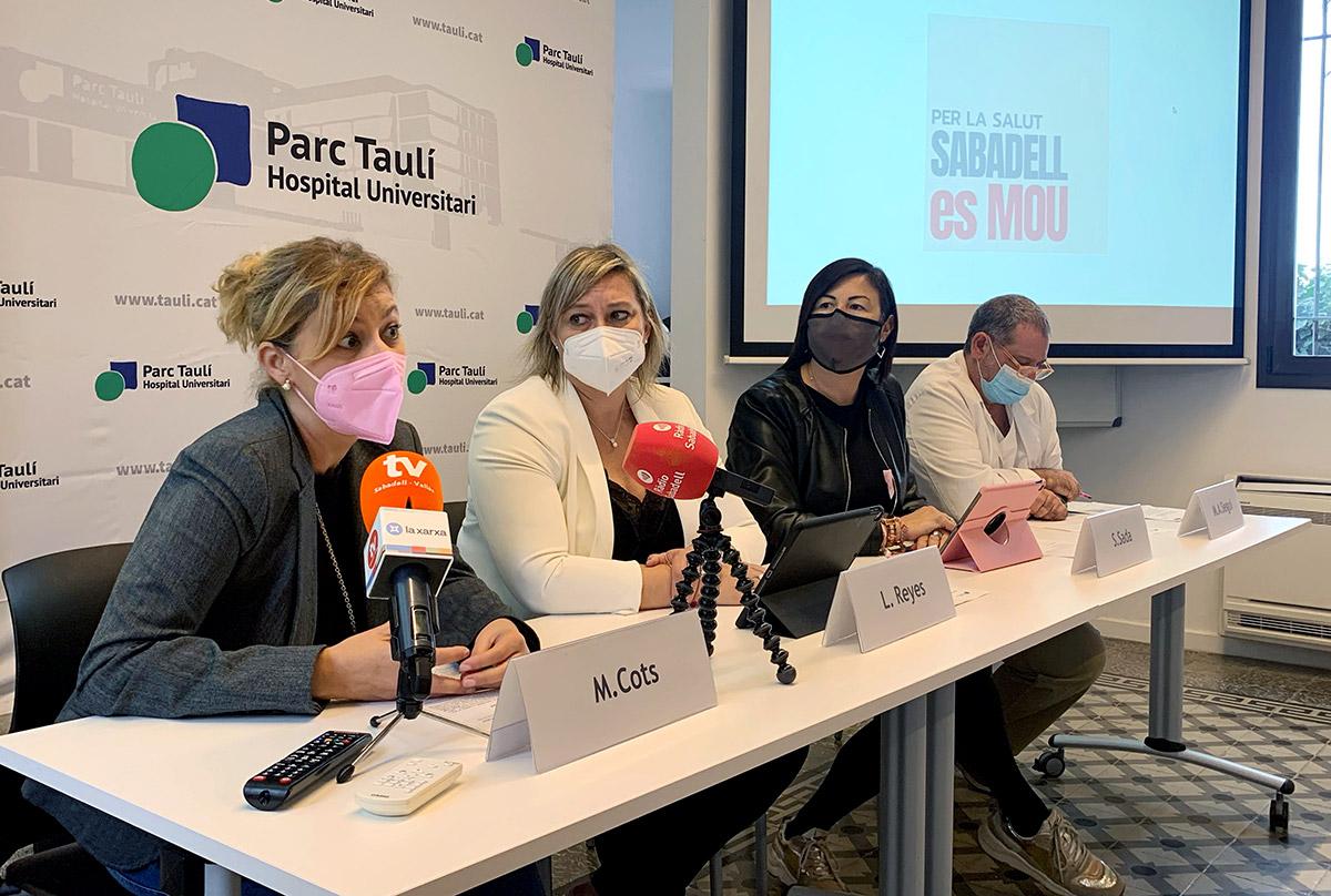 Presentació de la campanya 'Per la Salut, Sabadell es Mou'