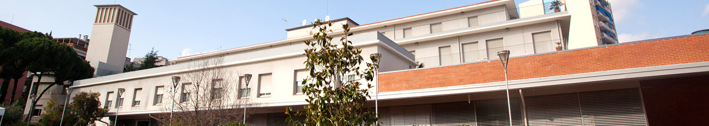 Image of one of the facades of Sabadell Elderly