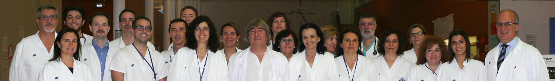 Imagen del equipo del Servicio de Cardiología