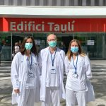 At Parc Taulí, the study was led by Dr. Joan Carles Ferreres, from the Pathological Anatomy Service, by Dra. Marina Alguacil (left), from Laboratorio, and by Dra. Anna Moreno (right), from the Obstetrics Service.