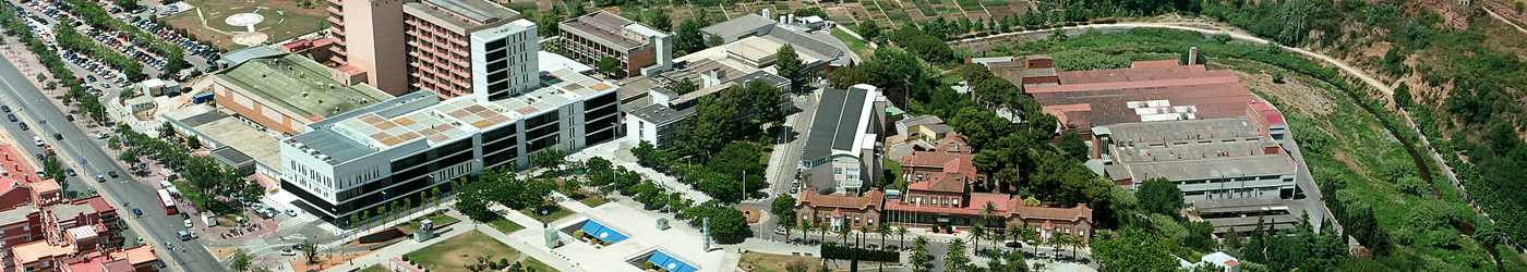 Aerial image of the Parc Taulí