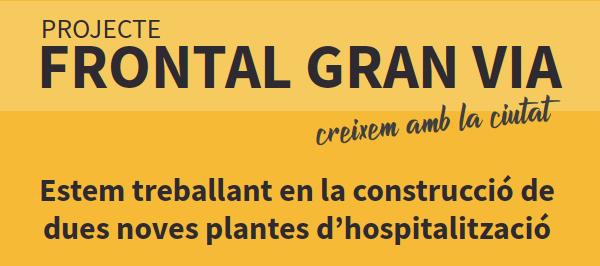 Avís per les obres del projecte Frontal Gran Via: Es reubiquen els consultoris de Medicina i Salut Mental del Servei d'Urgències