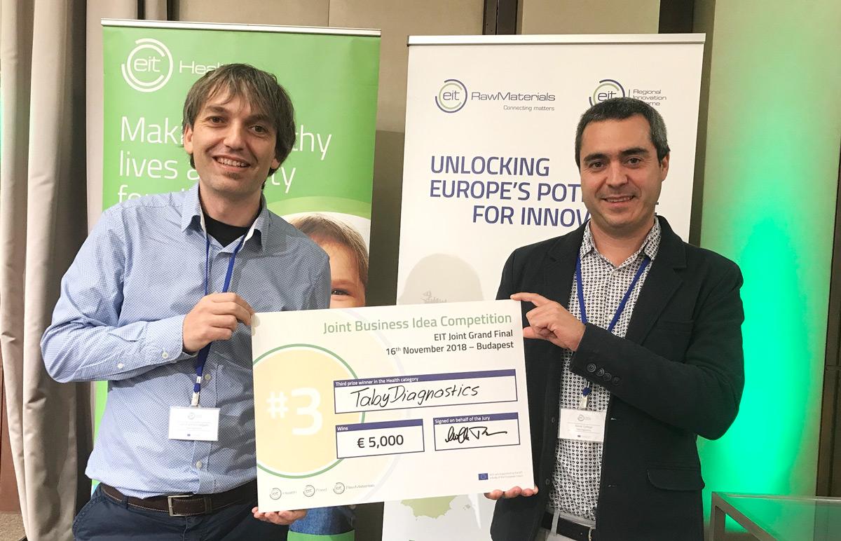 El projecte Taby Diagnostics del Parc Taulí guanya el 3r premi del concurs europeu Cross-KIC- Business Idea Competition