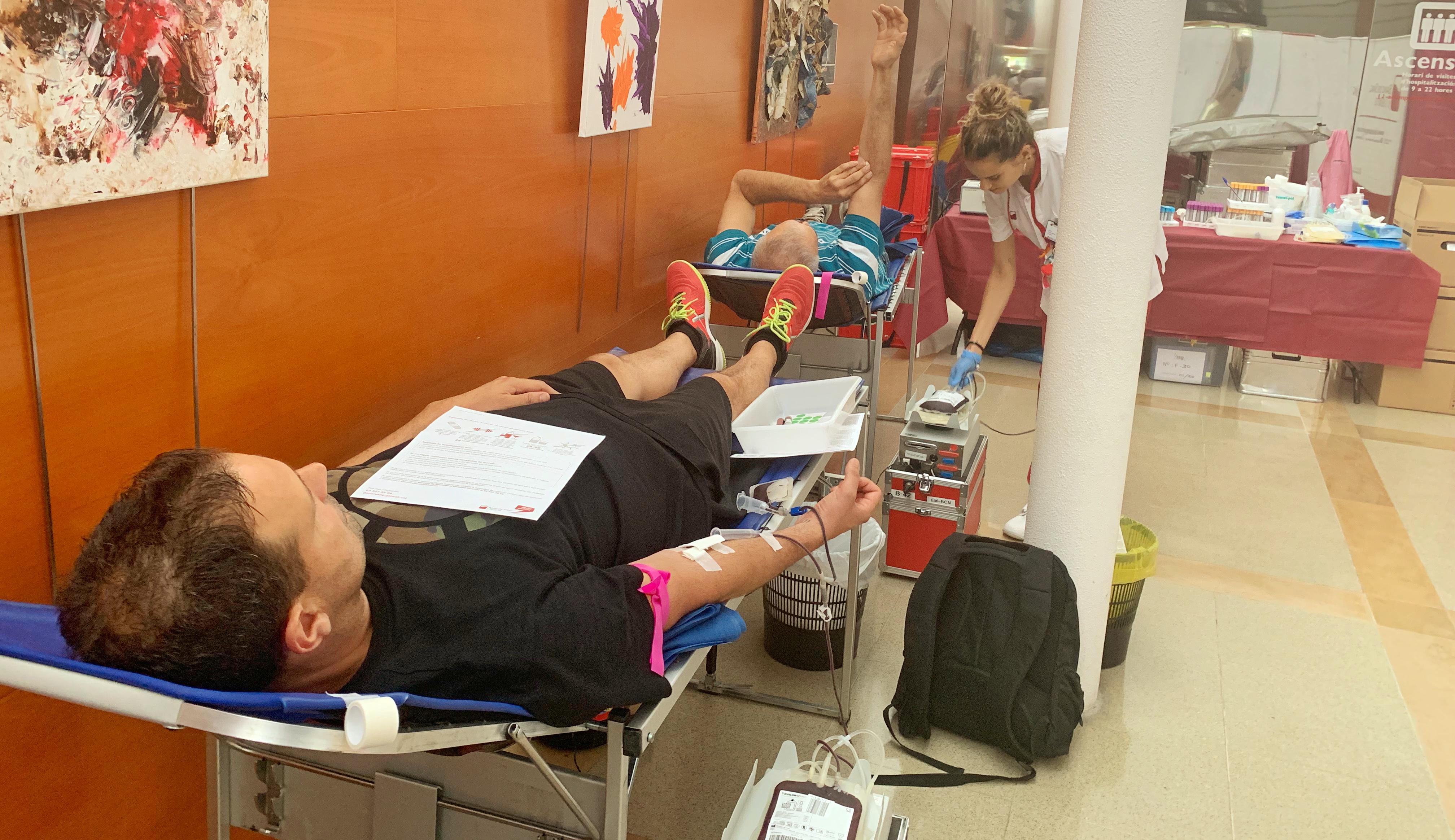 El Banc de Sang amplia la campanya al Parc Taulí a tots els dimarts laborables