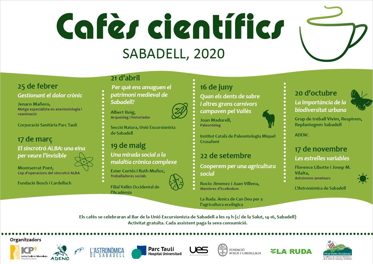 Arrenca la vuitena edició dels Cafès Científics de Sabadell amb la participació del Parc Taulí