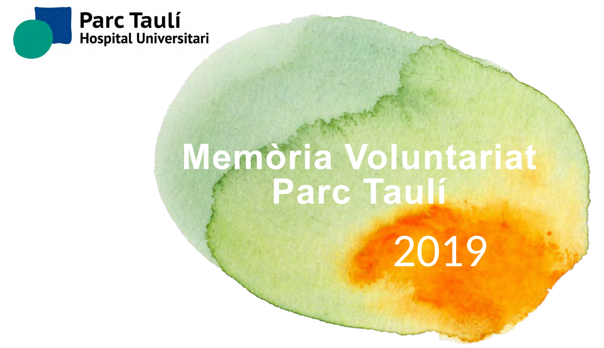 Memòria Voluntariat 2019 i desconfinament del Voluntariat Taulí