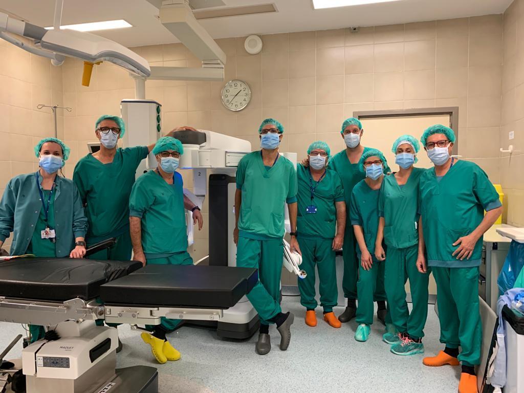 Les especialitats quirúrgiques del Parc Taulí fan un salt qualitatiu amb la incorporació del robot Da Vinci a les intervencions d'alta complexitat