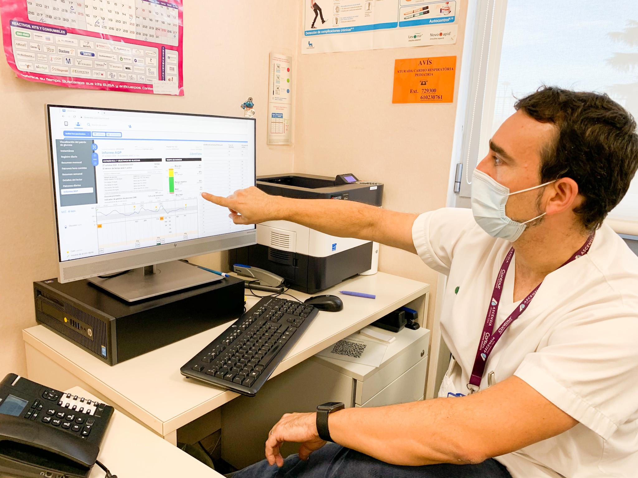 El 93% de los pacientes pediátricos del Parc Taulí con diabetes tipo 1 ya son portadores de los sensores de glucemia que permiten su monitorización remota las 24 horas