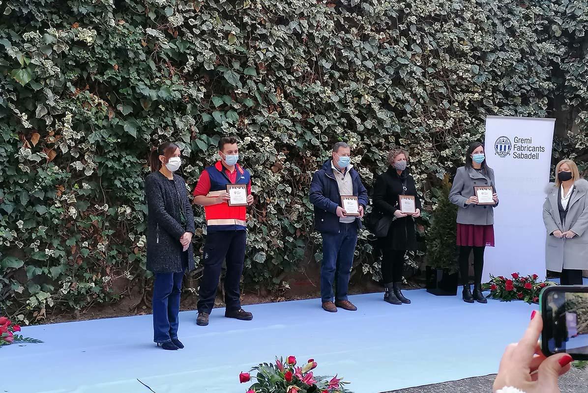 El Gremi de Fabricants de Sabadell reconeix els professionals sanitaris del Parc Taulí amb els Flocs de Llana 2020