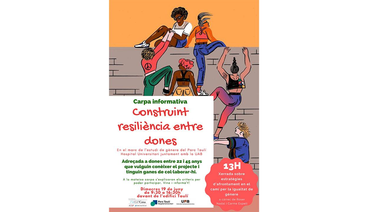 """L'estudi """"Construcció de resiliència entre dones"""" surt al carrer"""
