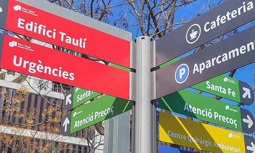 Link to the Directory of care services of the Parc Taulí by buildings